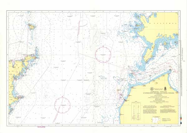 Карта от Ирбенского пролива до острова Готланд