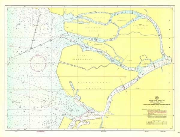 Карта дельты реки Невы
