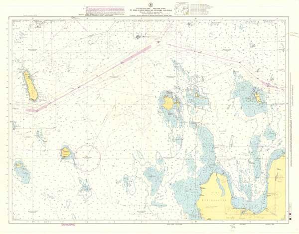 Карта от мыса Колгания до острова Гогланд