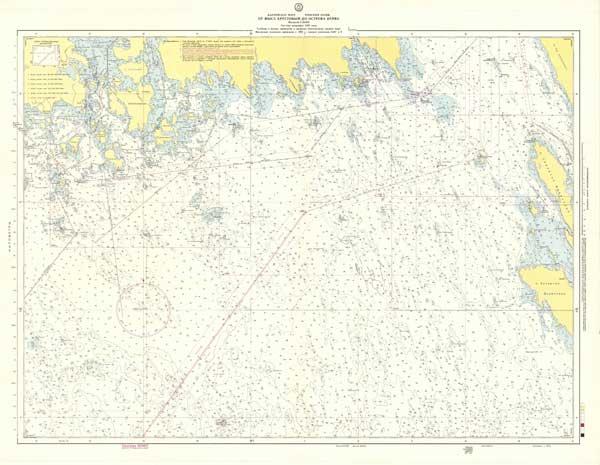 Карта от мыса Крестовый до острова Нерва