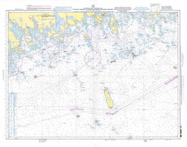 Карта от маяка Соммерс до светящего знака Тийскери
